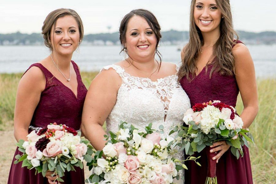 Bride and her Bridesmaids Makeup by Nancy