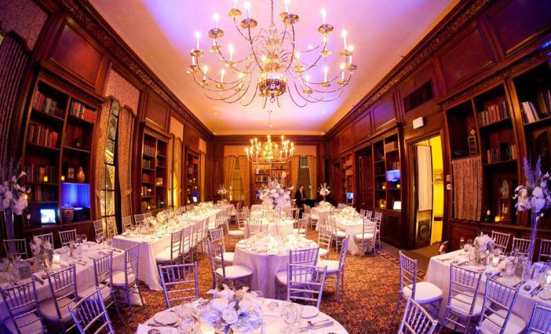 Hampshire House Wedding Reception in the Library