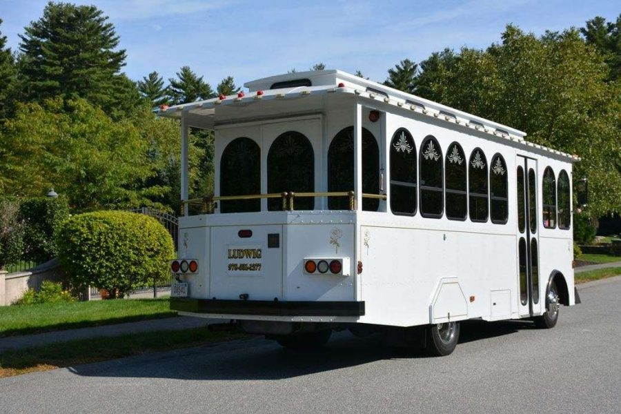Wally's Trolley Back view