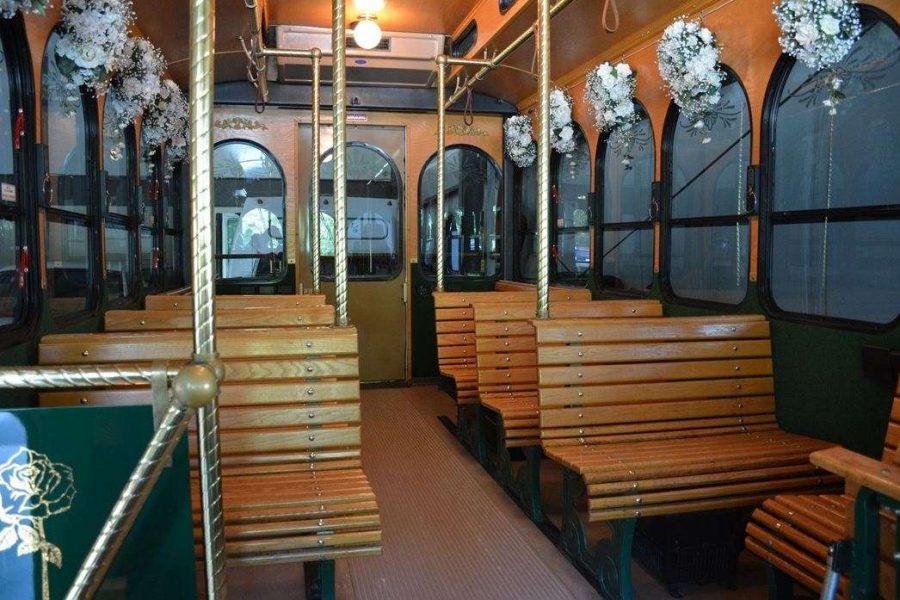 Wally's Trolley interior