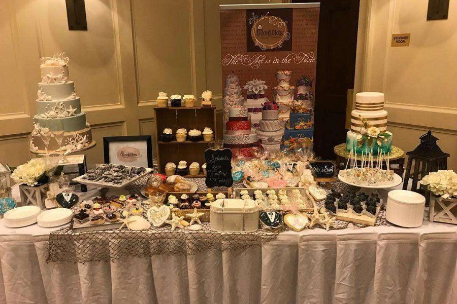 Wedding Cakes Desrt Bar Display
