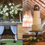 Rustic Barn Wedding Cake by Simmas