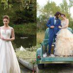 Vintage Truck Bride and Groom