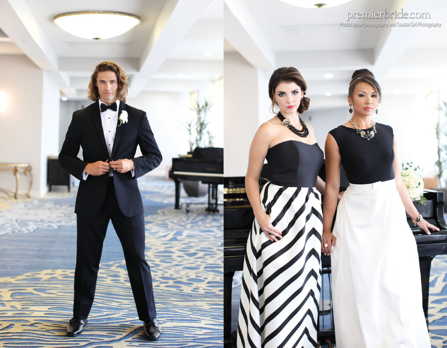 Michaels Formalwear & Bridal, Black Tie Formals, photos by becphotography