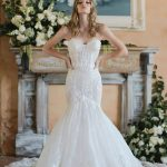 Wedding gown by Berta