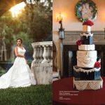 Custom Confections Speakeasy Wedding Cake