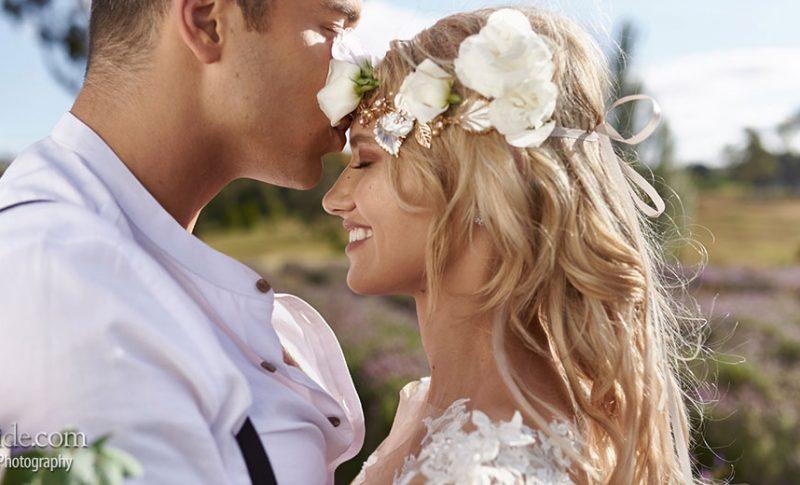 Boho meets Lavender wedding style