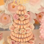 Macaroon tower display for wedding