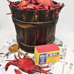 Groom's Cake with Crabbing theme