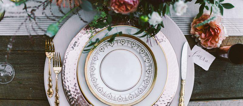 plates, utensils, flatware