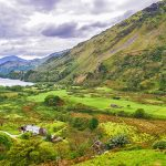 Snowdonia National Park - a mountain range and a region in North of Wales.