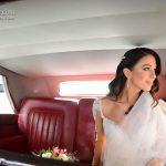 Antique wedding transportation