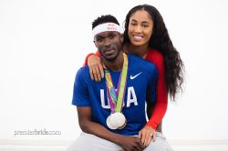 Olympic athlete Will Claye proposes to girlfriend at Rio